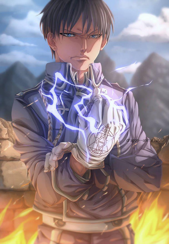 Roy Mustang _ fullmetal alchemist by Dragon--anime   Anime, Fullmetal alchemist