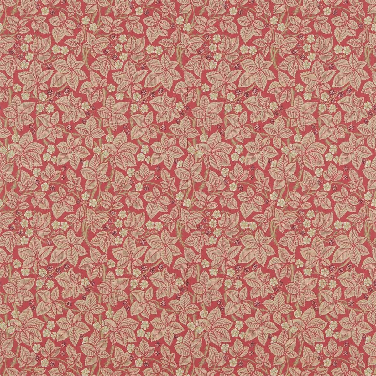Bramble Wallpaper Red (214697) William Morris & Co