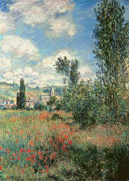 Image: Claude Monet - Path through the Poppies