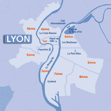 Lyon Arrondissements | france2015❤   | Pinterest | Lyon, France