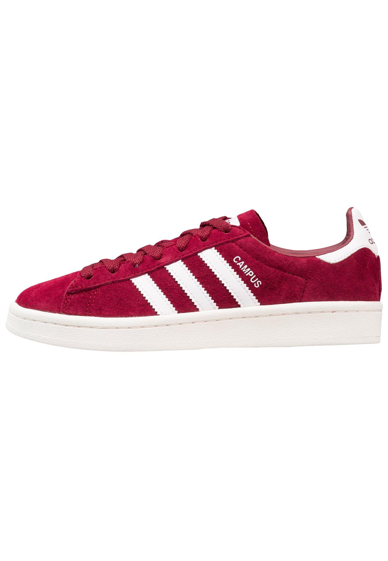 best sneakers 5c52a 7fe31 adidas Originals CAMPUS - Sneakers laag - collegiate burgundy footwear  white chalk white -