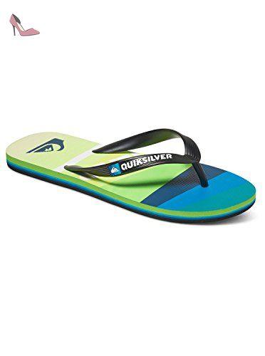 f272534b672 Quiksilver Molokai Slash Logo - Flip-Flops - Tongs - Homme - EU 43 ...