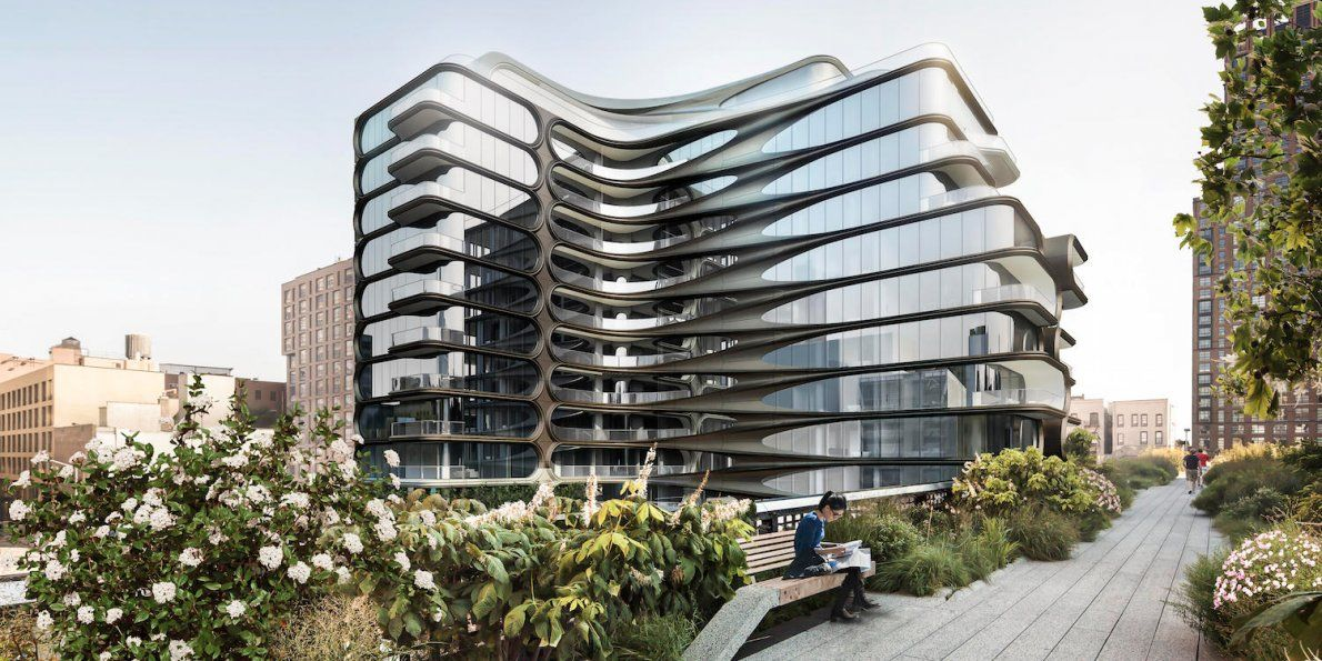 One of Zaha Hadid\'s final New York City apartment buildings has ...