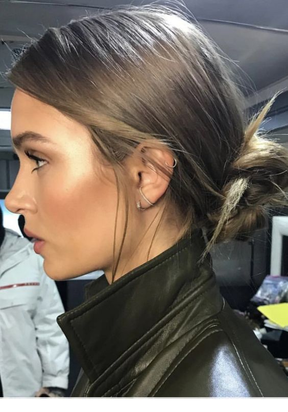 einfache aber coole frisur | jessica alba haar, frisuren