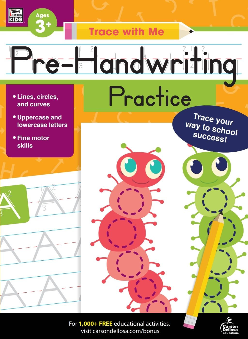 Trace With Me Pre Handwriting Practice Ebook