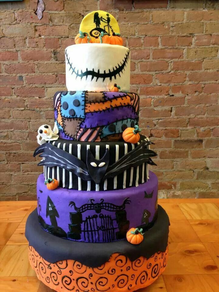 Nightmare Before Christmas Cake awsome cake in 2018 Pinterest