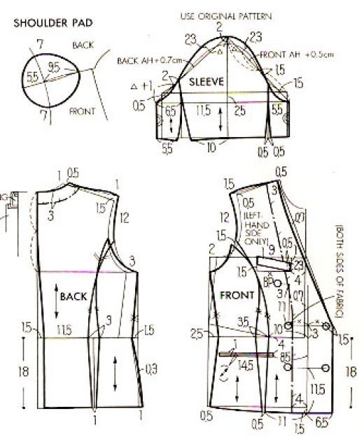 How To Make Your Own Sewing Pattern Idea Pinterest Costura Inspiration How To Make Sewing Patterns