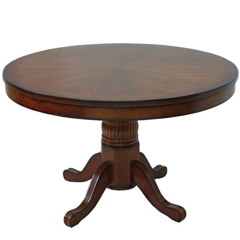 Reversible Round 48 Dining Game Table Round Poker Table Poker
