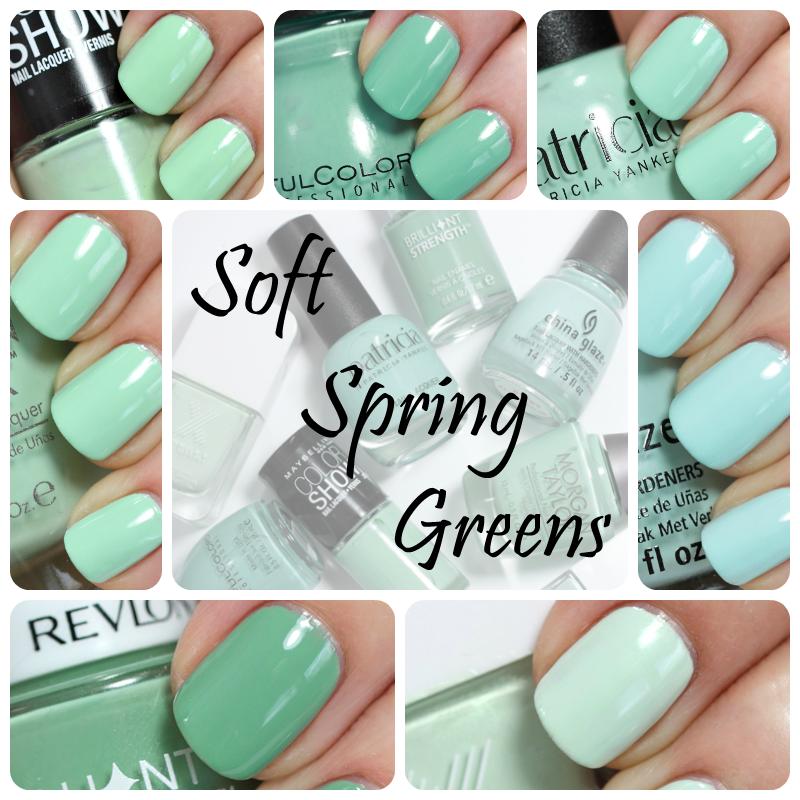 Nail The Trend Mint Green Nail Polish For Spring Mint Green Nails Green Nails Mint Green Nail Polish