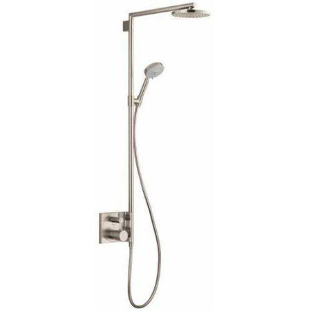 Hansgrohe 27192821 Raindance Showerpipe Shower System, Various Colors, Silver
