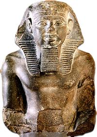 5.3.- Neferefre. Torso and head of Neferefre.