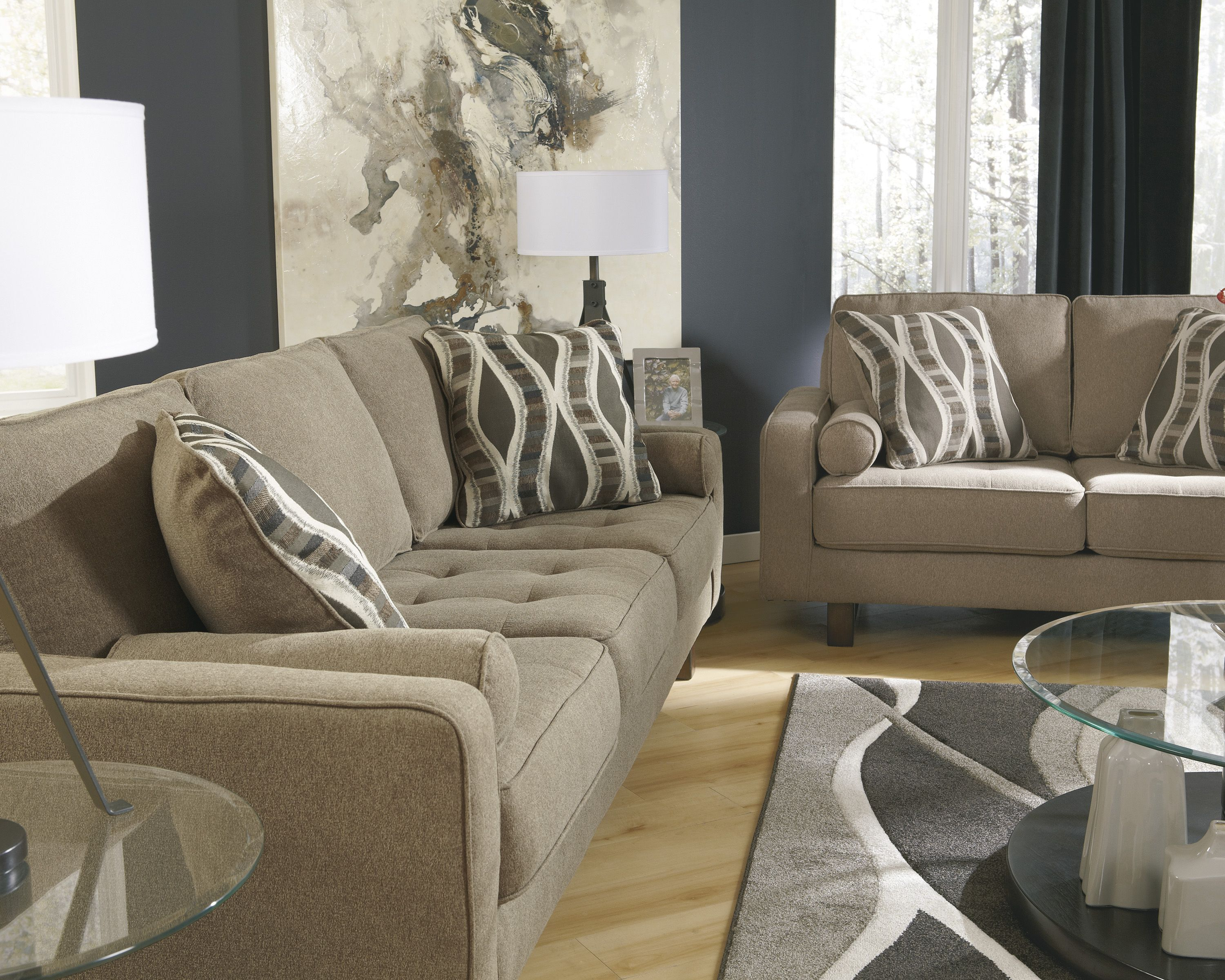 Get This Sofa Set And Accents At Active Home Centre