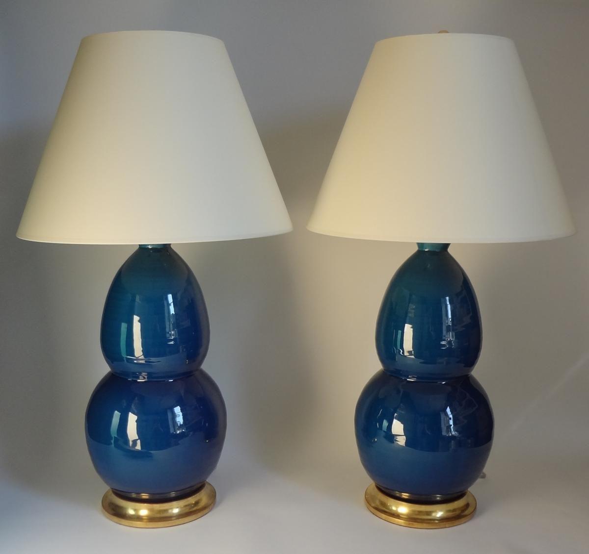 Christopher Spitzmiller Prussian Blue Modern Gourd