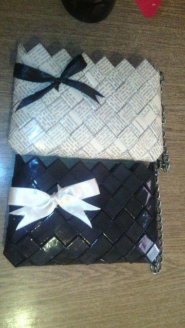Portofele Handmade Realizate Din Ziar Si Hartie Colorata Coffee Bag Bags Gifts