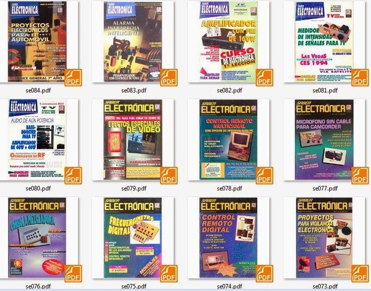 Revistas Saber Electronica Año 10 Pdf Mega Descargas Saber Electronica Proyectos Electronicos Electrónica