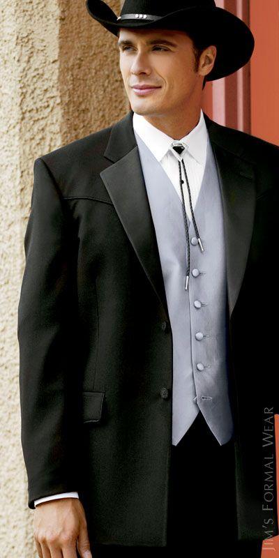 Tuxedos And Wedding Rental Lariat Western Tuxedo