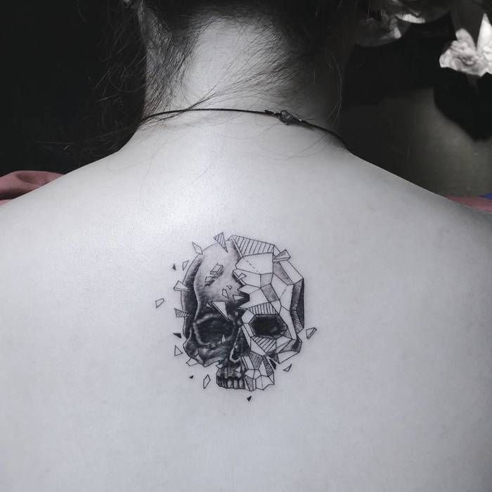 797b76be1 60 Best Skull Tattoo Designs and Ideas - Page 2 of 6 | Birthday ...