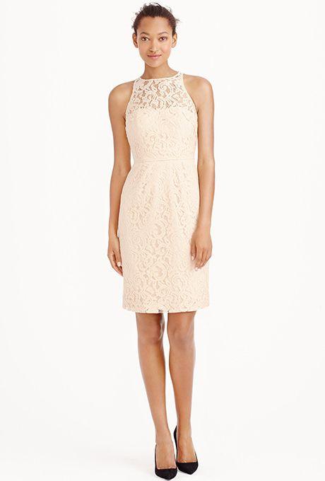 Pamela Dress In Leavers Lace 275 J