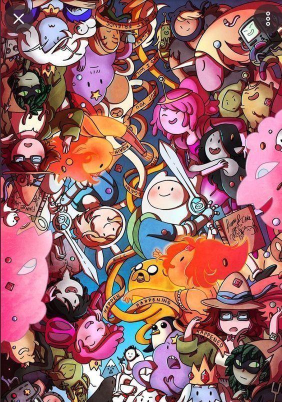 Zhc Art Iphone Zhc Art Adventure Time Wallpaper Cartoon Wallpaper Cartoon Wallpaper Iphone