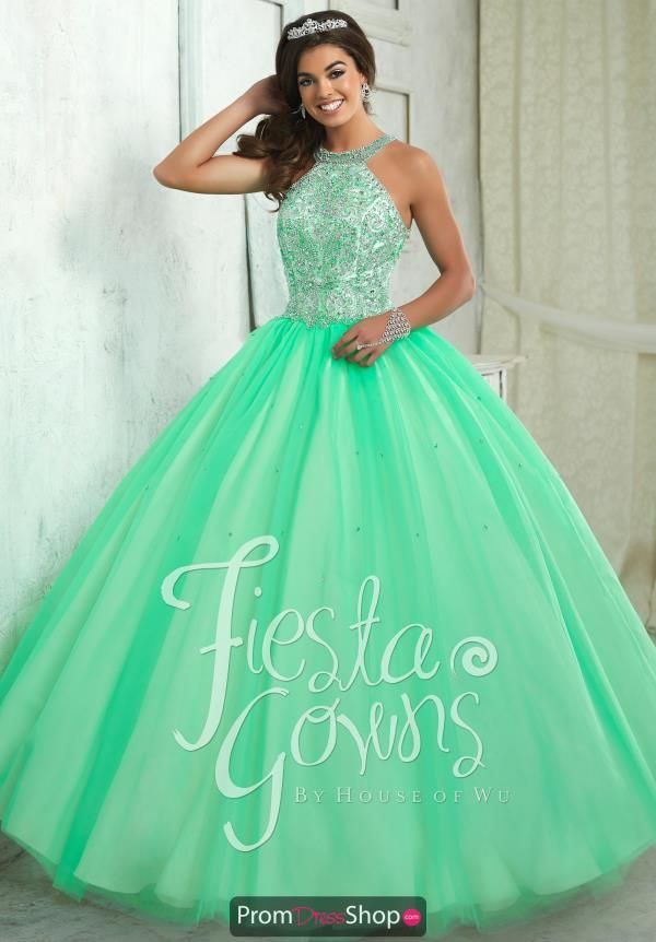 26ae2f38fe3 You will look and feel beautiful in this dazzling dress 56316 from Tiffany  Fiesta. This dress features a flattering high halter neckline and a  gorgeously ...