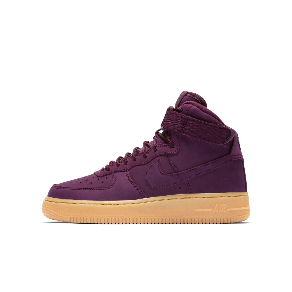 finest selection 78a17 b4053 Nike Air Force 1 High WB Big Kids  Shoe Size 4.5Y (Purple)