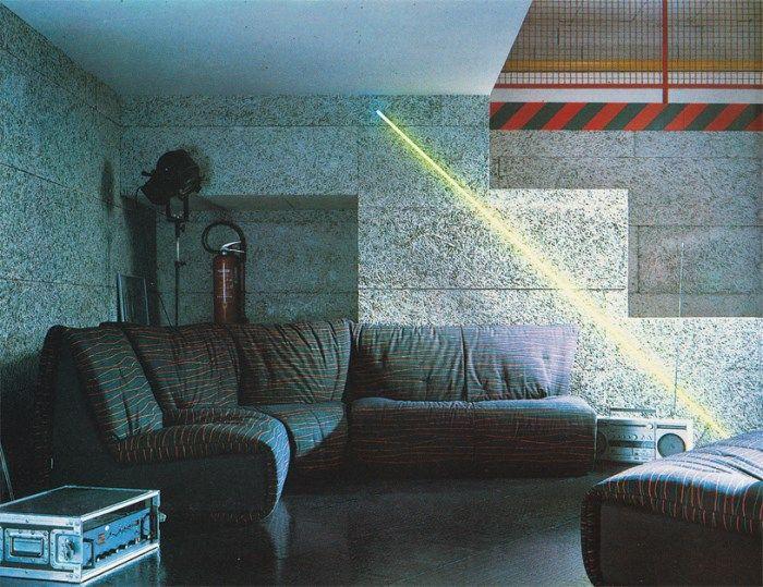 1980s Interior Design Trend: Stripes | Mirror80