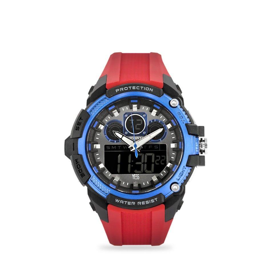 Yess.com - Relojes RELOJ HOMBRE DEPORTIVO BISEL COLOR AZUL