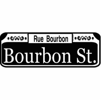 New Orleans Bourbon Street Sign Templates Blanks Add Text - Street sign template