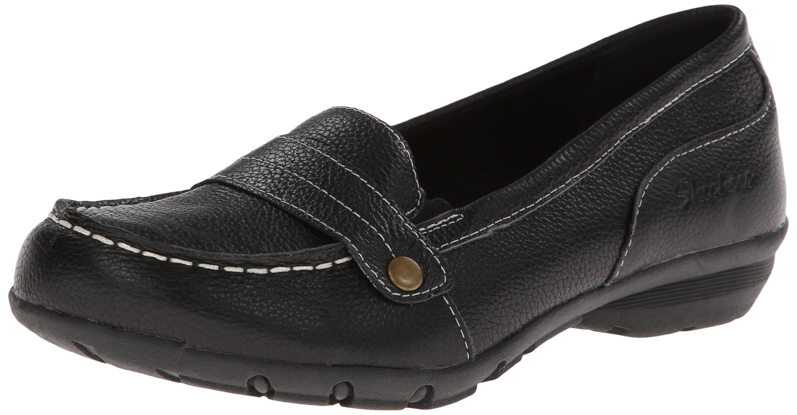 Amazon.com  Skechers Relaxed Fit Career Womens Comfort Loafers  Shoes e48a9530d0