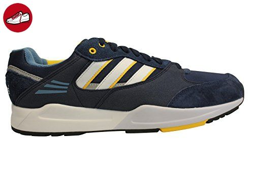 adidas Herren ZX 750 Sneaker Low Hals Blau Weiß