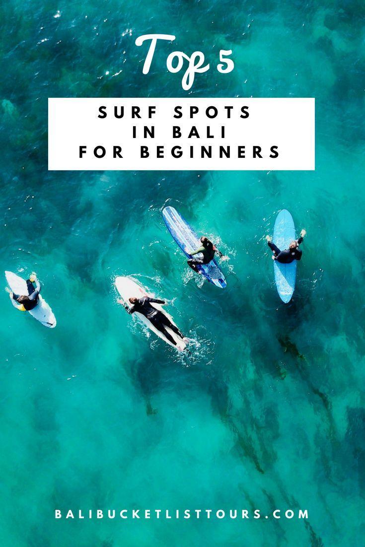 Surf Bali Best Surf Spots For Beginners In Bali Indonesia Best Surfing Spots Surfing Bali Surf