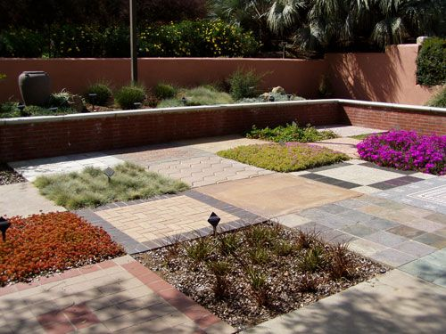 Ground Cover Exhibit at The Water Conservation Garden.