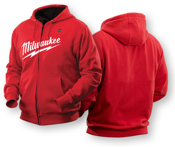 Red Heated Hoodie - I soooo want one for me & the boys!!  I never knew they existed.