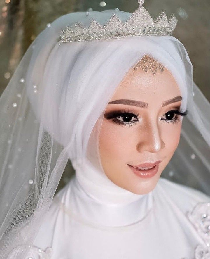 Pin Oleh Marizka Devi Di Hijab Pengantin Gaya Pengantin Pengantin Pengantin Wanita