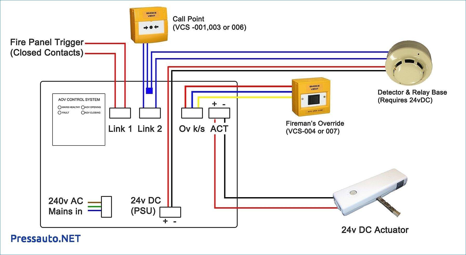 addressable smoke detector wiring diagram  smoke alarms