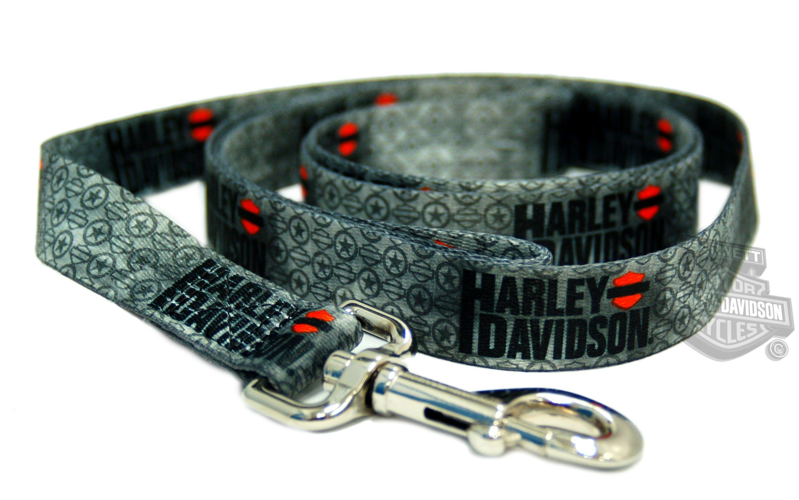 Harley-Davidson® Harley Grey Vintage with Nickel-Plated Logo Snap 1