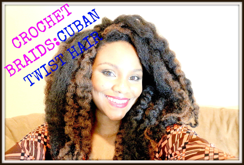 Learn To Crochet Braids W Cuban Twist Hair Highlights Awesome
