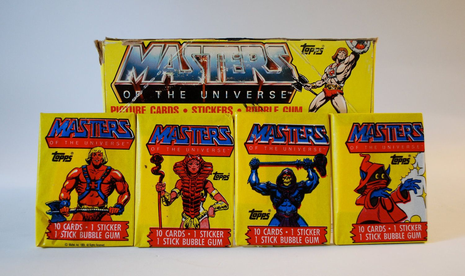 Masters Of The Universe trading cards (1983) I never knew