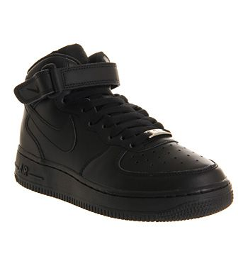 office nike air force 1. Fine Air Nike Air Force 1 Mid GS Black  Office Girl For O