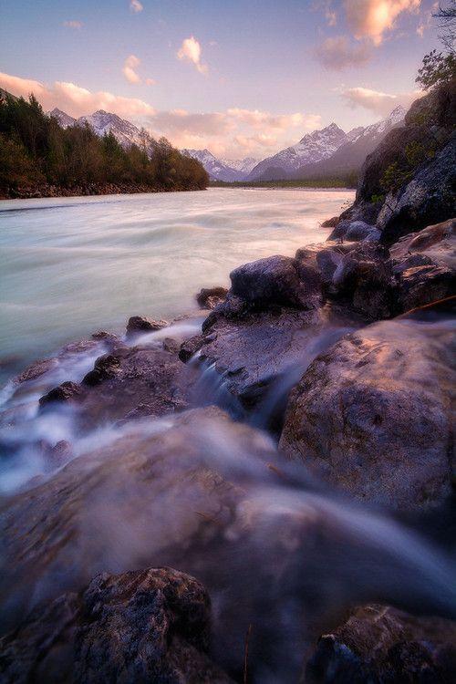 Lech River   Germany (by David Sonnweber)