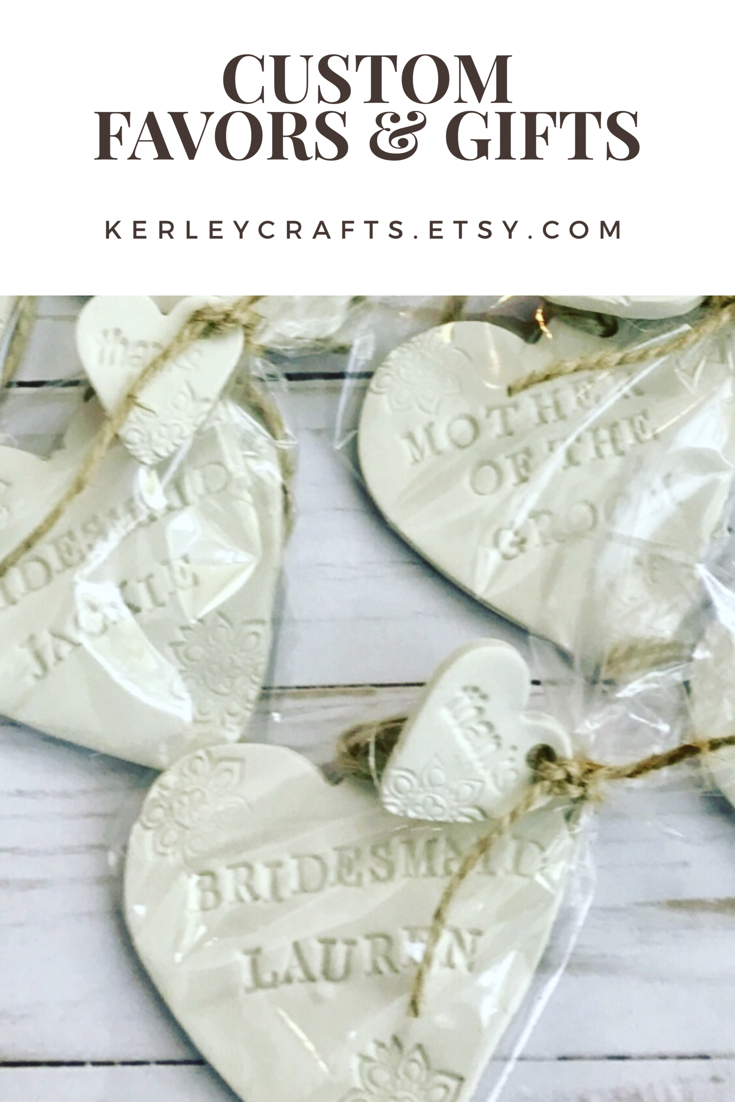 Personalized favors and gift ideas - gifts for bridal party- wedding ...