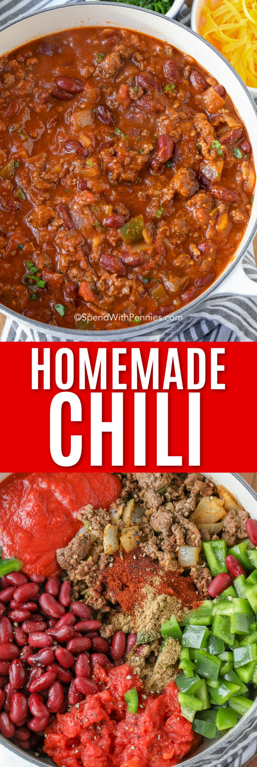 The Best Chili Recipe Chili Recipe Easy Best Chili Recipe Ground Beef Chili Recipes