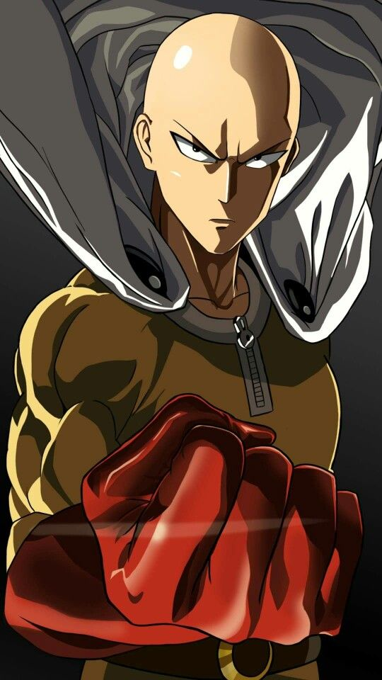 Saitama One Punch Man One Punch Man Anime One Punch Man Manga Saitama One Punch Man
