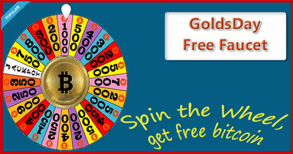 Goldsday free bitcoin