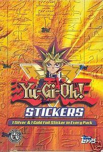 Yugioh Topps Series 1 Sticker Set! 53 Stickers