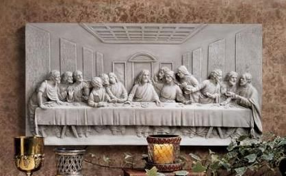 Christian Wall Decor The Last Supper Wall Frieze