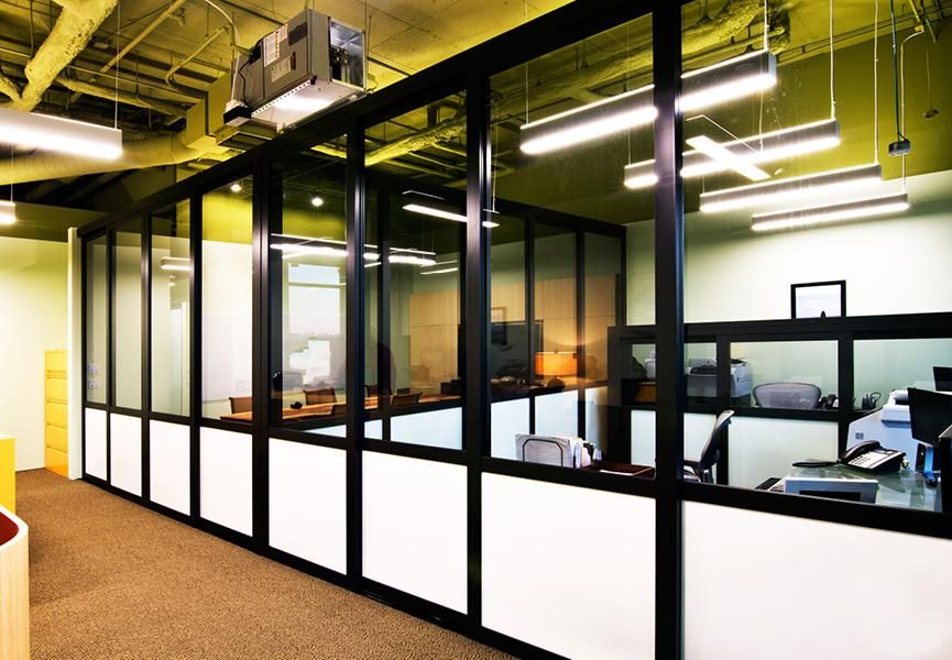 Maximize space for minimal cost with office partitions made of the ...