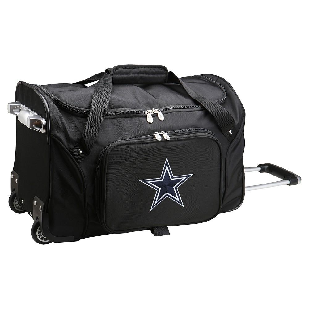 Nfl Dallas Cowboys Mojo 22 Rolling Duffle Bag Rolling