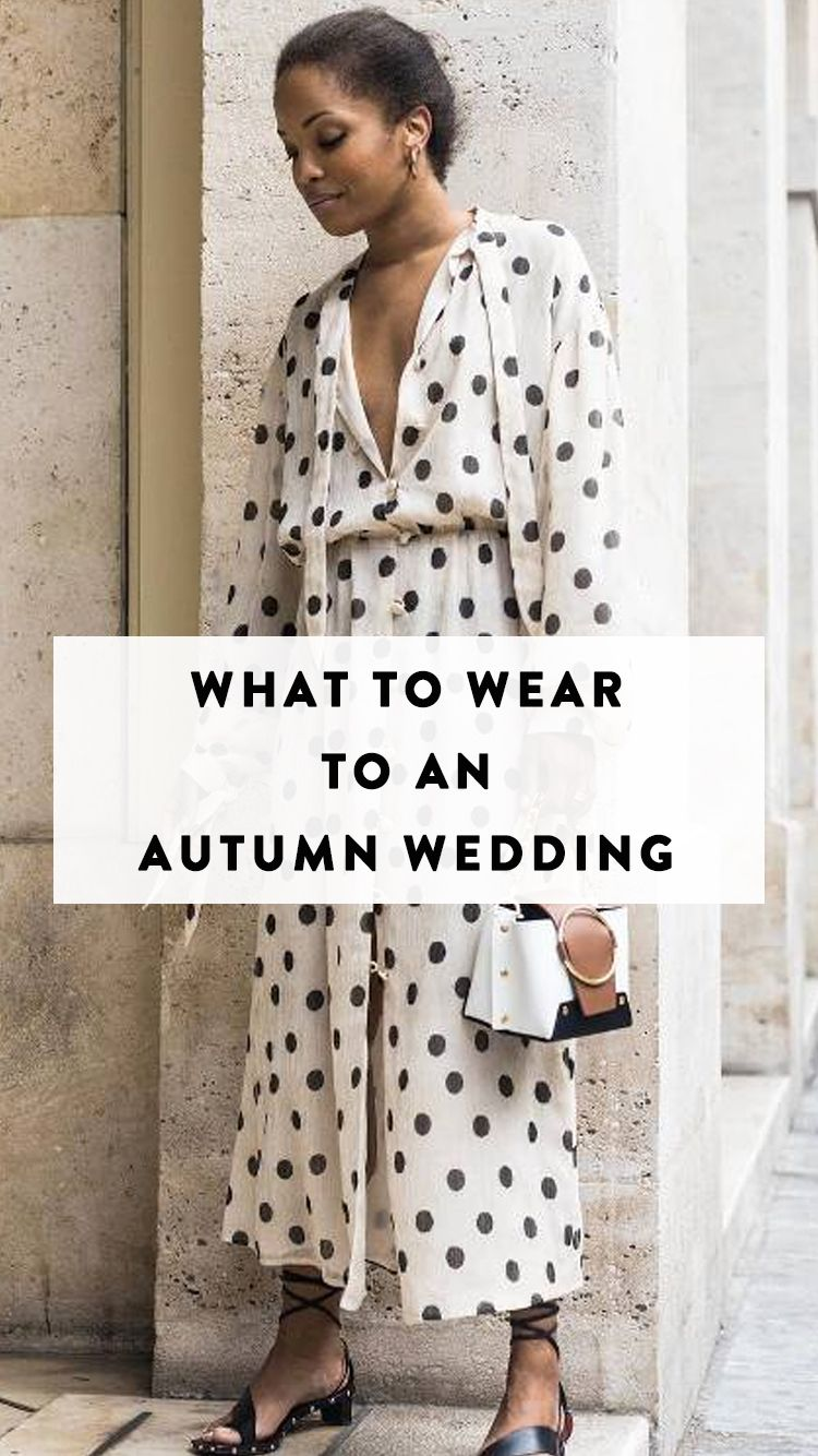 Dresses to wear to a fall wedding for a guest  Going to an October Wedding Hereus Exactly What to Wear  Wedding