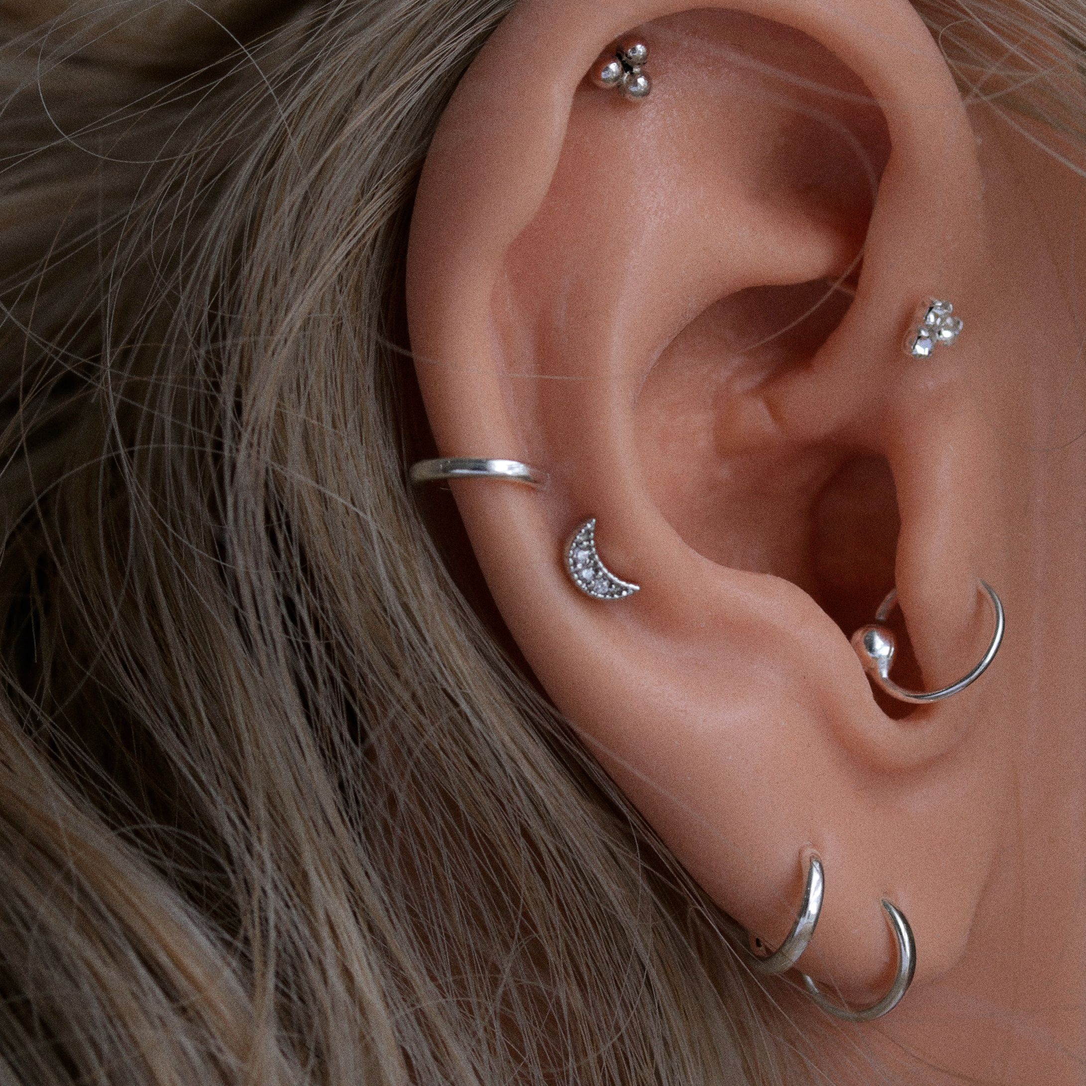 Nose piercing over 50  Ear u Adornments u In store now ladies Including brand new mini